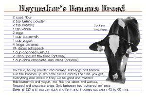 haymakers banana bread
