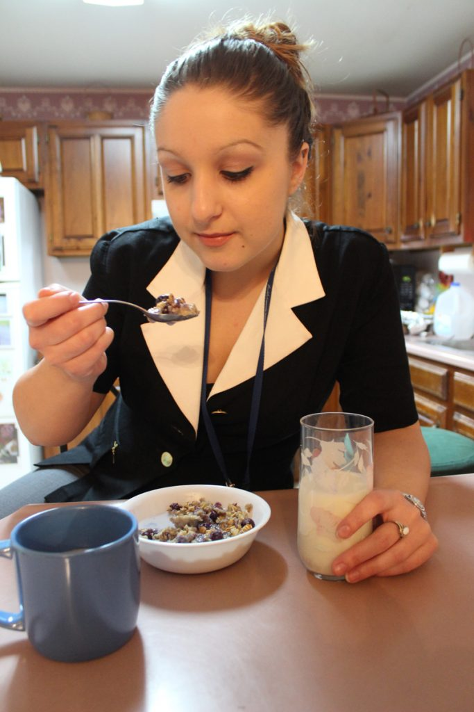 Taking just a few minutes for breakfast can make a big difference throughout the day.