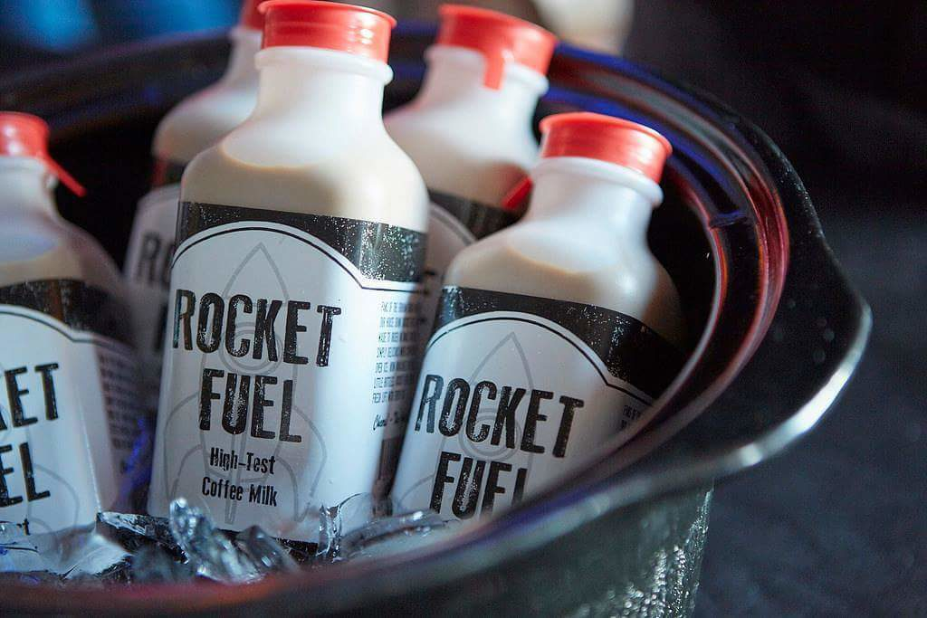 Giving coffee milk a boost with Rocket Fuel   Drink Maine Milk